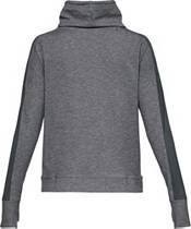 Under Armour Women's Featherweight Fleece Mesh Funnel Neck Sweatshirt product image