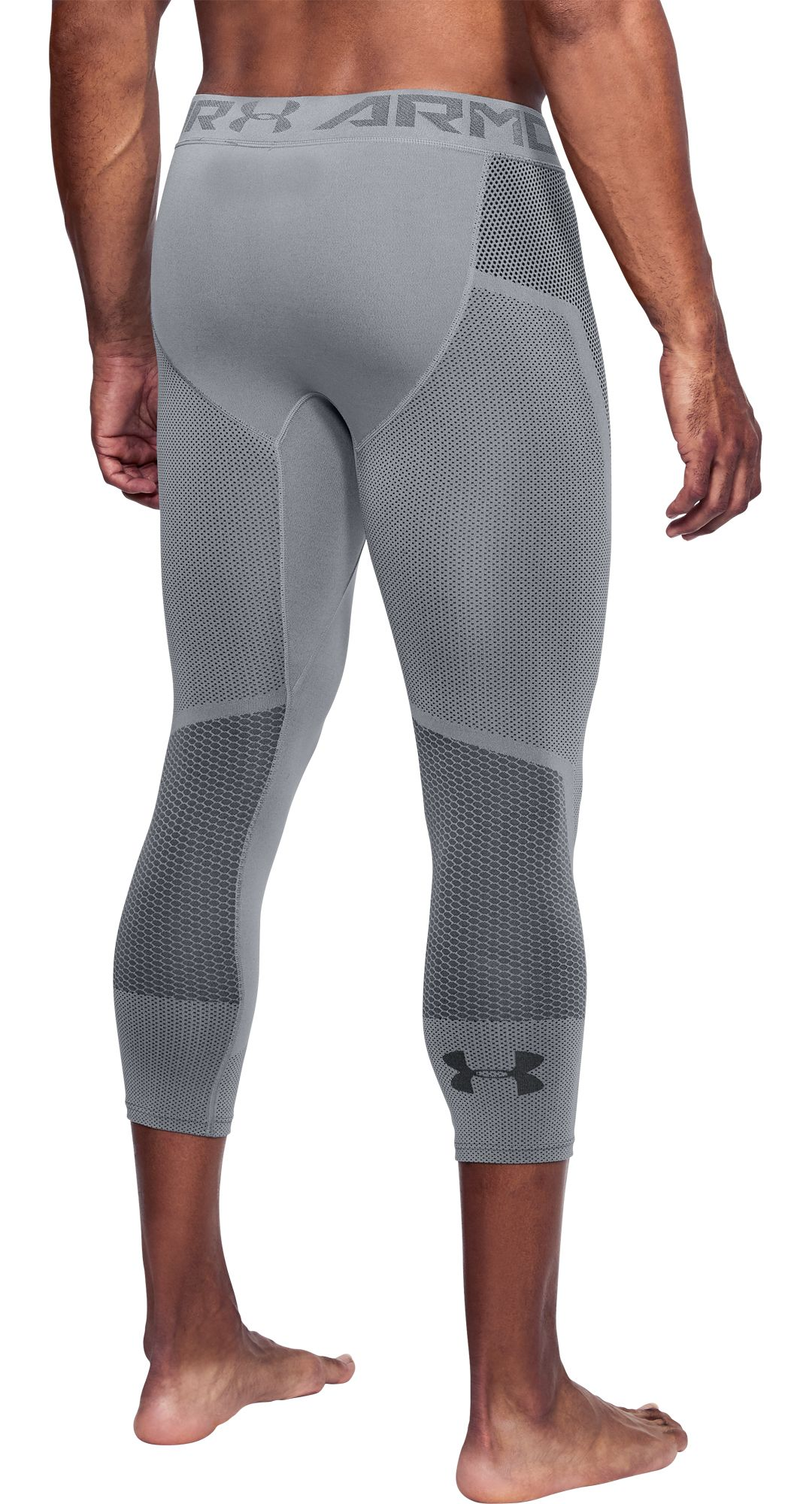 fc9110304bbafb Under Armour Men's Threadborne Seamless ¾ Length Leggings. noImageFound.  Previous. 1. 2