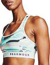 Under Armour Women's Armour Mid Crossback Printed Sports Bra product image