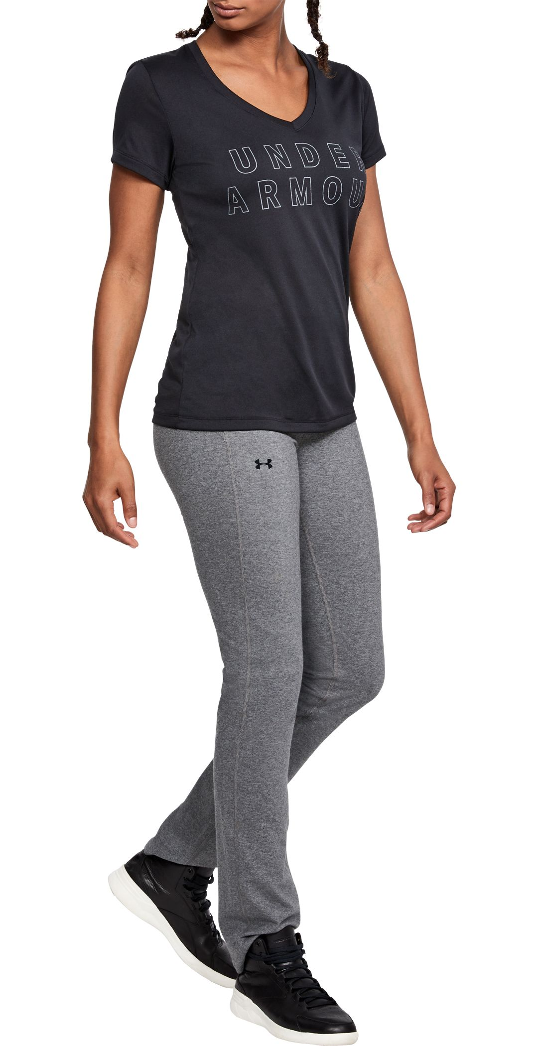 923190e539 Under Armour Women's Favorites Straight Leg Pants