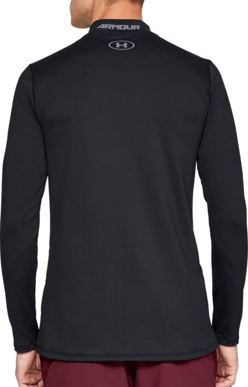 4aeed312 Under Armour Men's ColdGear Armour Mock Neck Long Sleeve Shirt ...