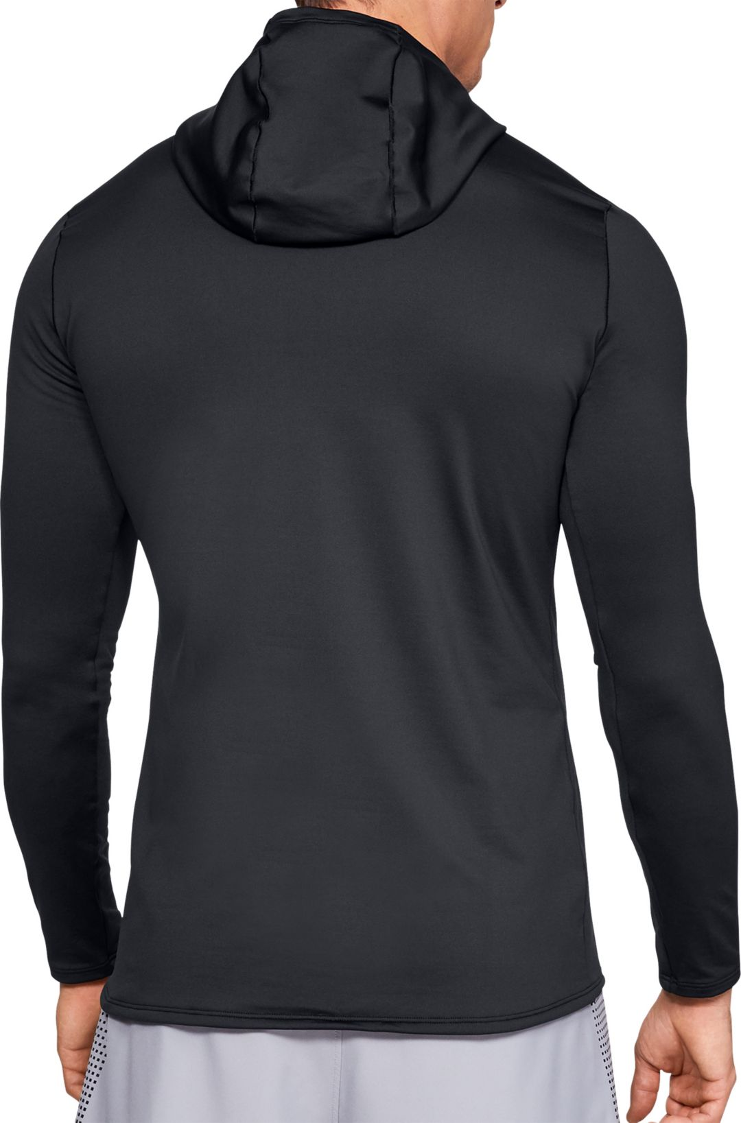 dd72615ca4 Under Armour Men's ColdGear Fitted Hooded Long Sleeve Shirt