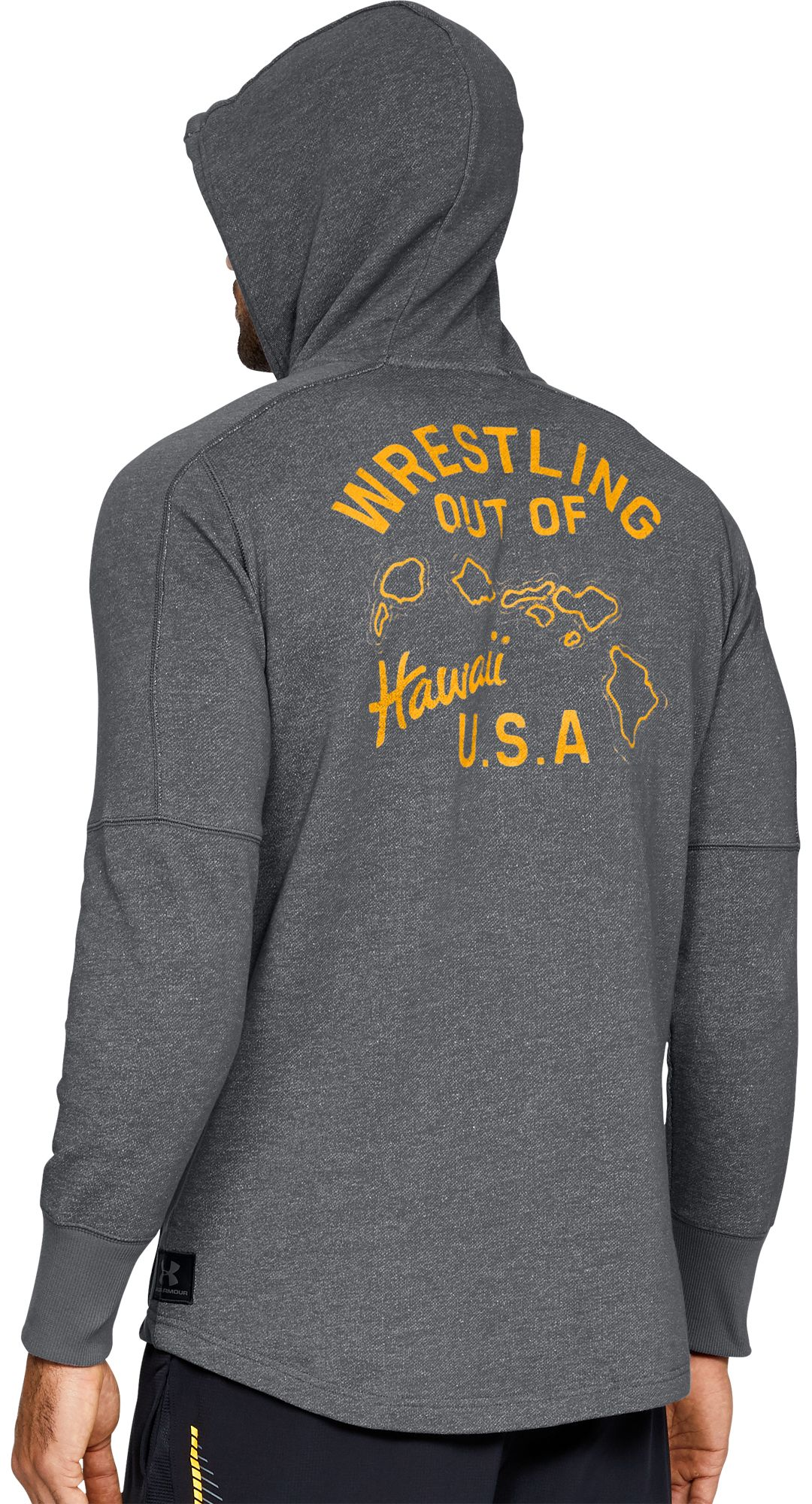 deae9f8aa8 Under Armour Men's Project Rock Hawaii USA Hoodie