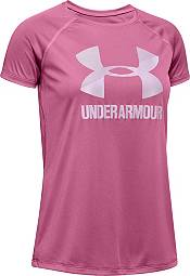 Under Armour Girls' Solid Big Logo T-Shirt product image