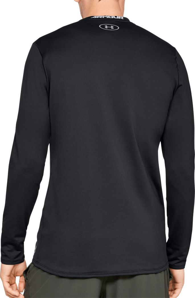 67b9a265 Under Armour Men's ColdGear Fitted Crew Long Sleeve Shirt | Golf Galaxy