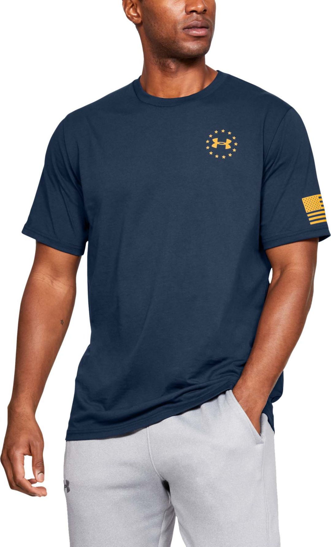 6a967f47 Under Armour Men's Freedom Flag T-Shirt