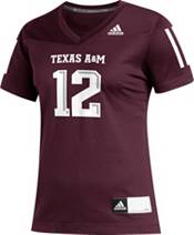 adidas Women's Texas A&M Aggies #12 Maroon Replica Football Jersey product image