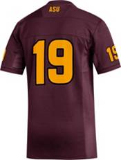 adidas Men's Arizona State Sun Devils #19 Maroon Replica Football Jersey product image