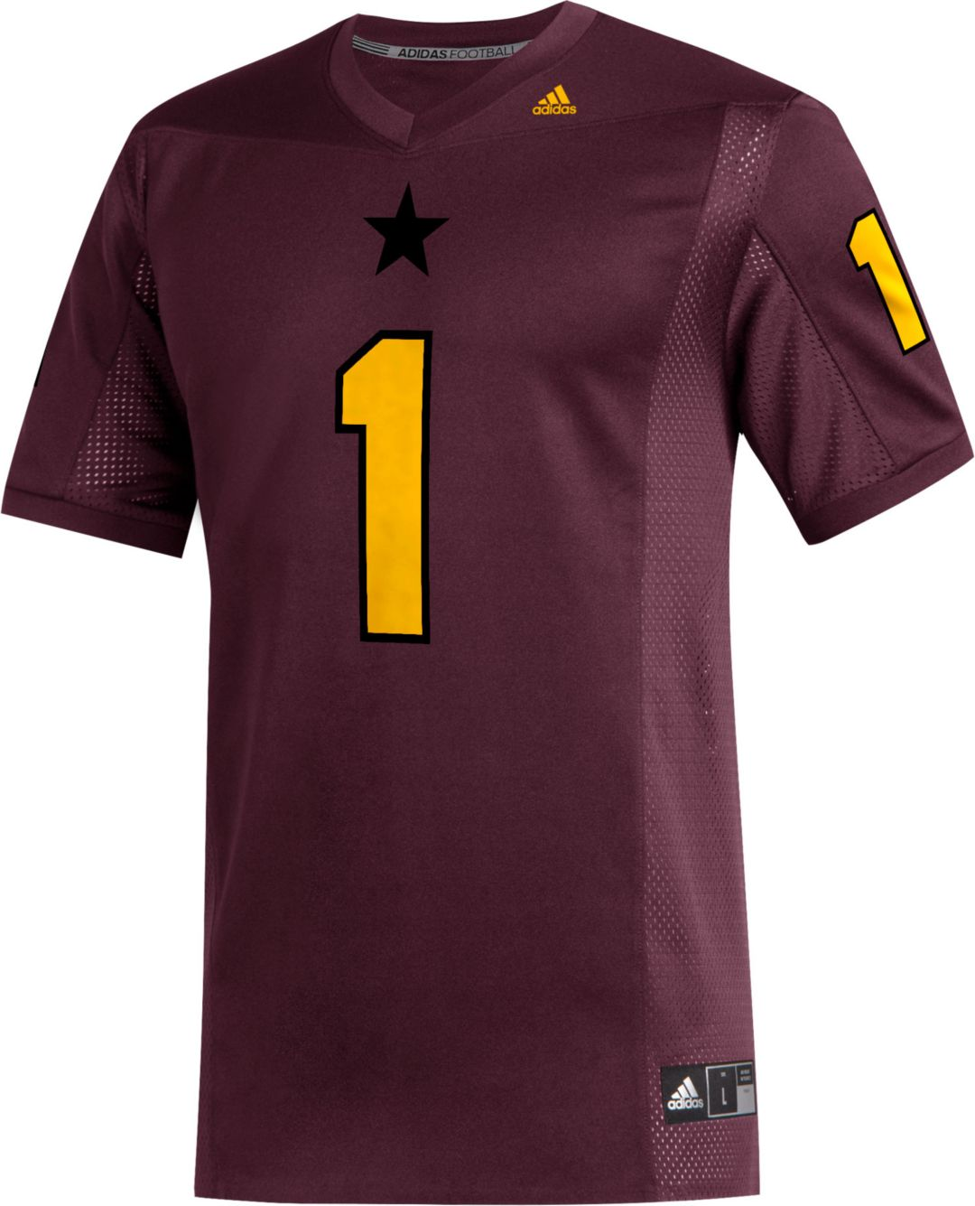 bdf18514 adidas Men's N'Keal Harry Arizona State Sun Devils Maroon #1 Replica  Football Jersey