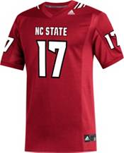adidas Men's Phillip Rivers NC State Wolfpack #17 Red Replica Football Jersey product image