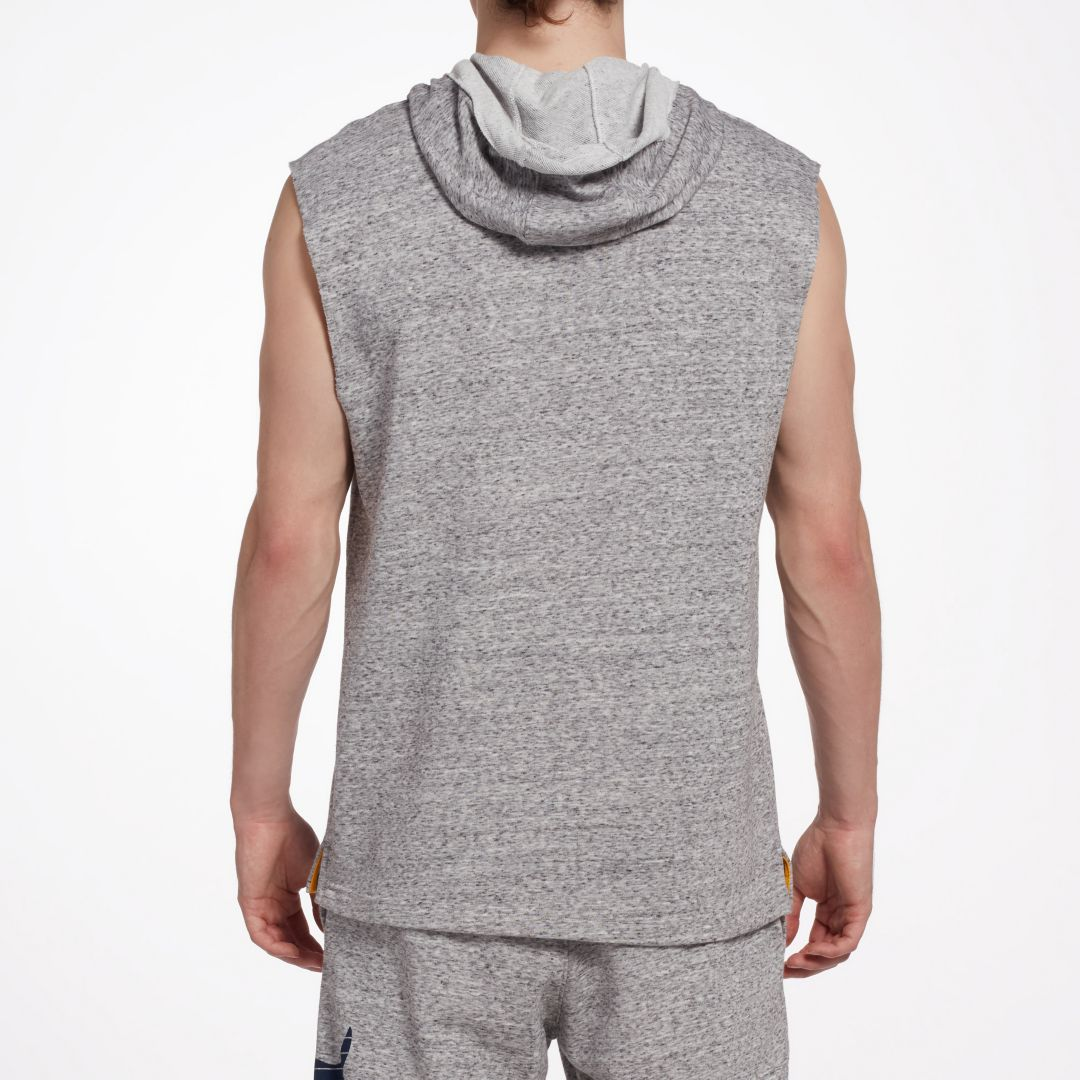 new product b1aa8 f7082 Under Armour Men s Project Rock French Terry Sleeveless Hoodie ...