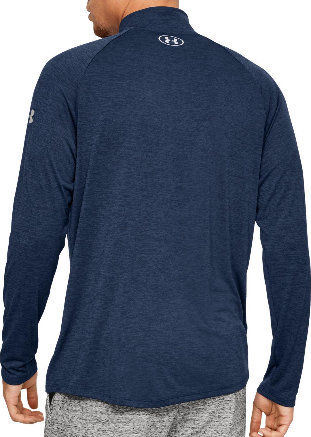 dbd30cb905 Under Armour Men's Project Rock Tech ½ Zip Long Sleeve Shirt