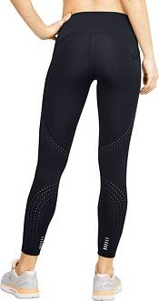 Under Armour Women's Qualifier Speedpocket Perforated Ankle Crop Leggings product image