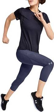 Under Armour Women's Jacquard Fly Fast Compression Capris Leggings product image