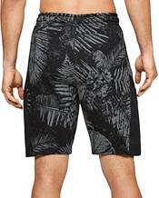 Under Armour Men's Project Rock Aloha Camo Printed Fleece Shorts product image