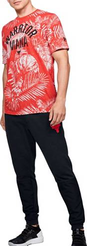 Under Armour Men's Project Rock Aloha Camo Warrior Mana Graphic T-Shirt product image