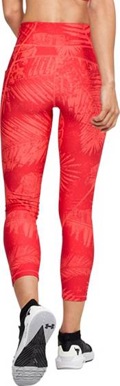 Under Armour Women's Project Rock HeatGear Printed Crop Leggings product image