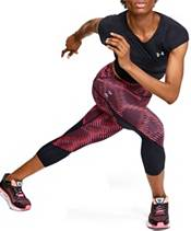 Under Armour Women's HeatGear Fly Fast Printed Crop Leggings product image