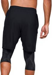 Under Armour Men's Printed Launch SW 2-in-1 9'' Shorts product image