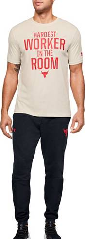Under Armour Men's Project Rock Hardest Worker Graphic T-Shirt product image