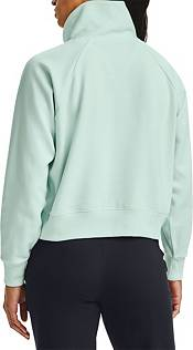 Under Armour Women's Rival Fleece Wrap Neck Pullover Sweatshirt product image