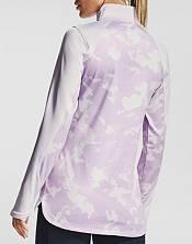 Under Armour Women's ColdGear Camo 1/2-Zip Long Sleeve Shirt product image