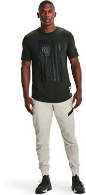 Under Armour Men's Project Rock Veteran's Day Flag Graphic T-Shirt product image