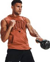 Under Armour Men's Project Rock Terry Iron Sleeveless Hoodie product image