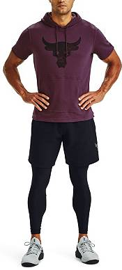 Under Armour Men's Project Rock Terry Short Sleeve Hoodie product image