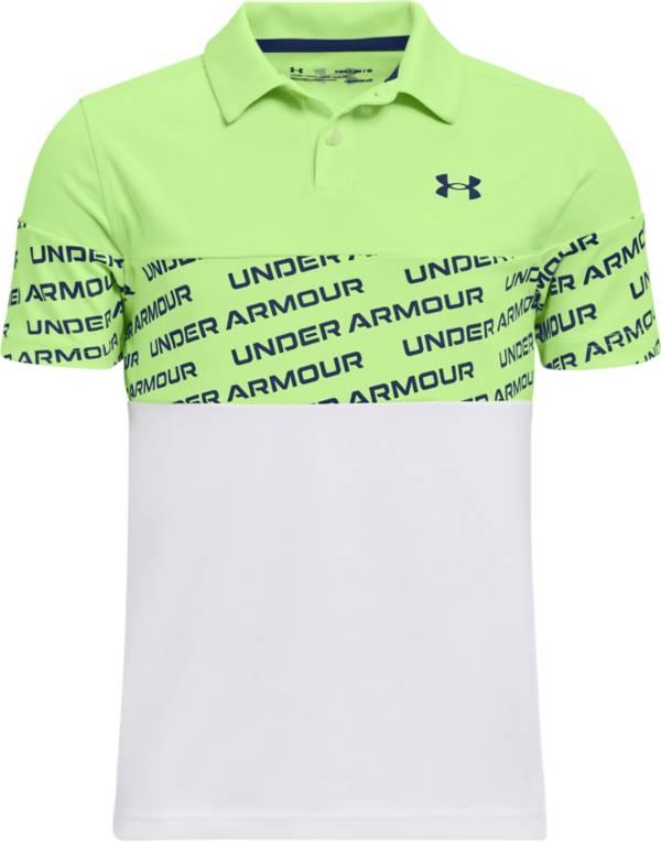 Under Armour Boys' Performance Wordmark Golf Polo product image