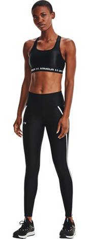 Under Armour Women's HeatGear Shine Mesh No-Slip Waistband Leggings product image