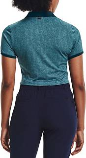 Under Armour Women's Zinger Printed Short Sleeve Golf Polo product image