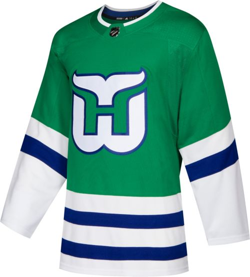 6d39ceb5285 adidas Men s Hartford Whalers Authentic Pro Home Jersey