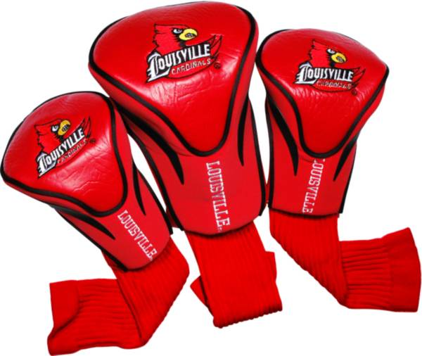 Team Golf Louisville Cardinals Contour Sock Headcovers - 3 Pack product image