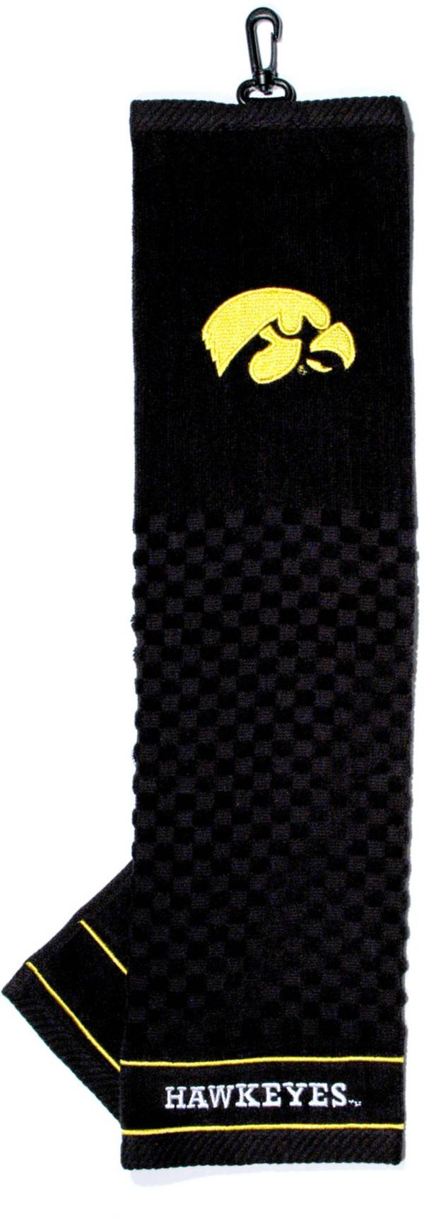 Team Golf Iowa Hawkeyes Woven Towel product image