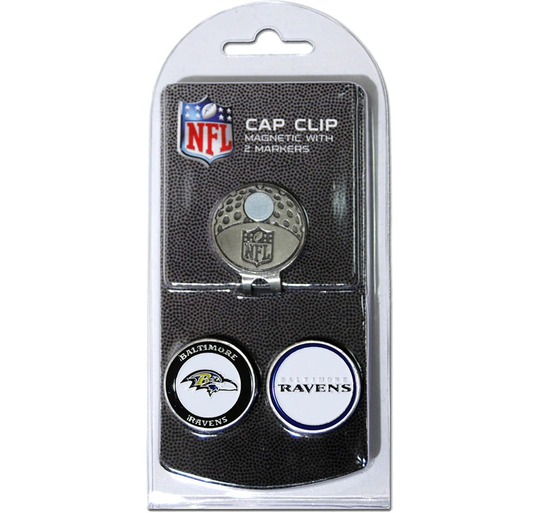 c9dc334d Team Golf Baltimore Ravens Two-Marker Cap Clip