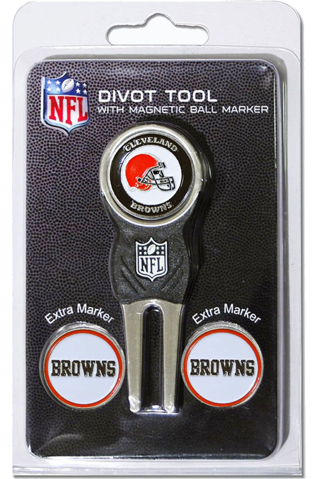 new styles b1c46 4657d Team Golf Cleveland Browns Divot Tool and Marker Set