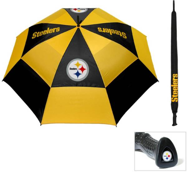 """Team Golf Pittsburgh Steelers 62"""" Double Canopy Umbrella product image"""