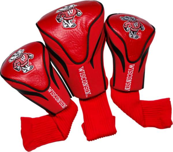 Team Golf Wisconsin Badgers Contour Sock Headcovers - 3 Pack product image