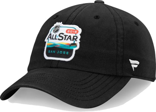 NHL 2019 NHL All-Star Game Logo Black Adjustable Hat. noImageFound.  Previous. 1. 2. 3 4149be6e7261