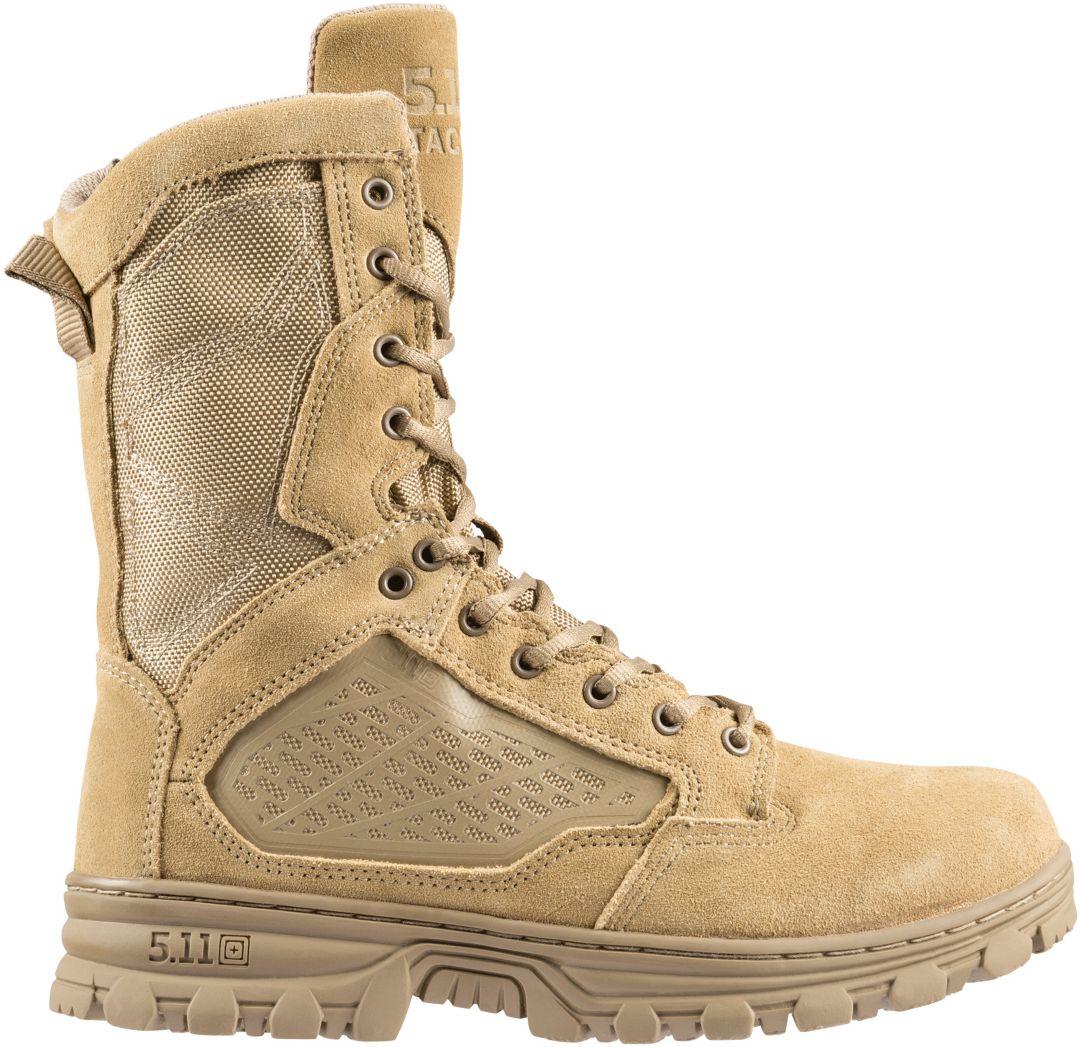 """5.11 Tactical Men's Evo 8"""" Side Zip Tactical Boots"""