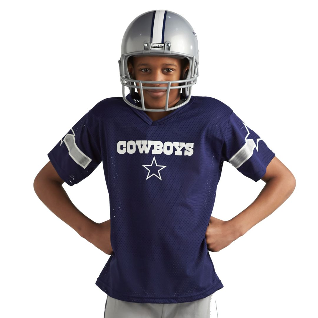 15f7c150 Franklin Dallas Cowboys Youth Deluxe Uniform Set