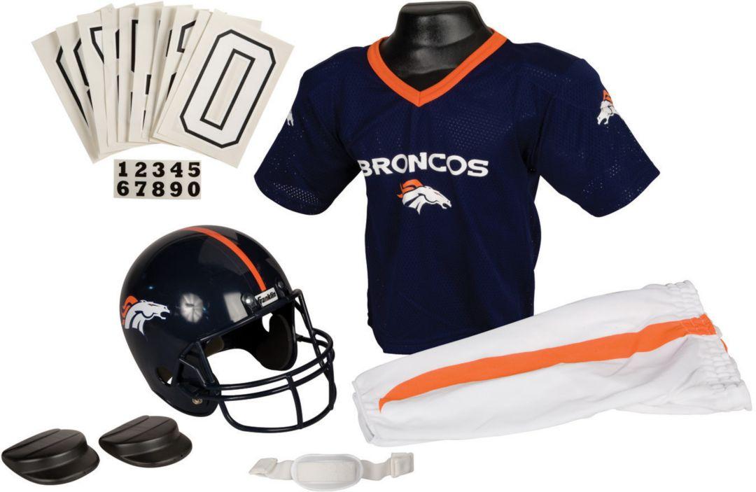 pretty nice dc74c b598b Franklin Denver Broncos Youth Deluxe Uniform Set