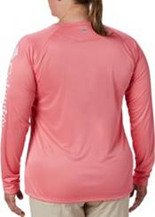 Columbia Women's Plus Size PFG Tidal Tee Long Sleeve Shirt product image