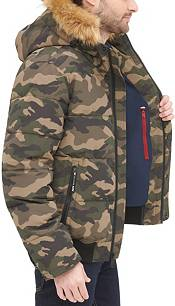 Tommy Hilfiger Men's Quilted Snorkel Bomber Jacket product image