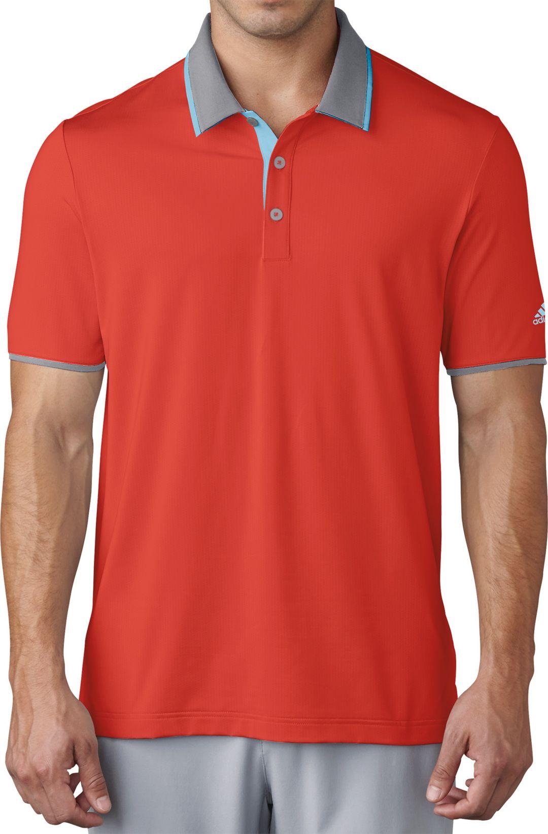 1d365dd7 adidas Men's climacool Performance Golf Polo