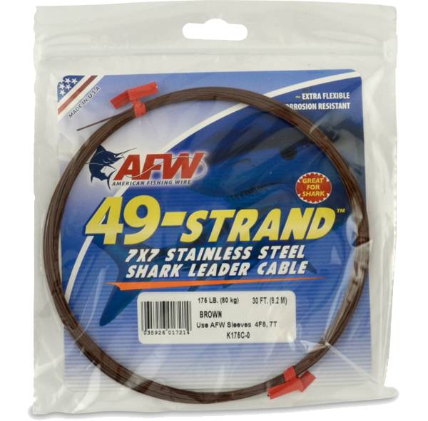 American Fishing Wire Shark Leader Cable product image