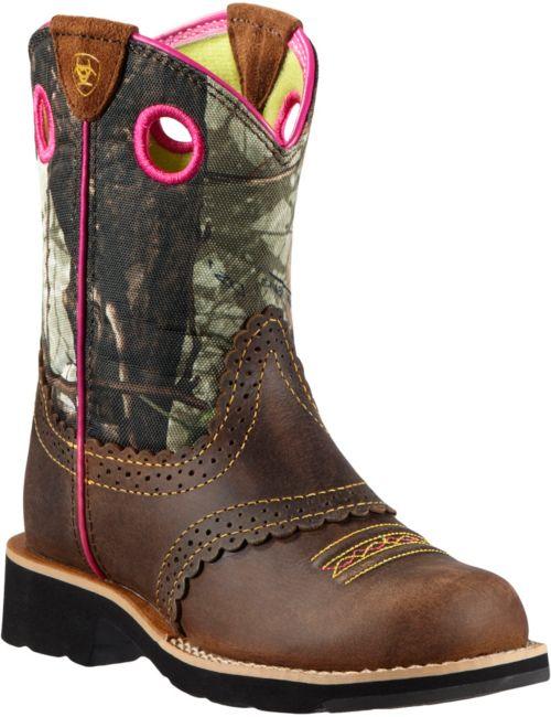 14e5fd08ac6 Ariat Girls  Fatbaby Cowgirl Camo Western Boots. noImageFound. 1