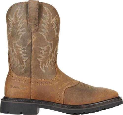 76dba73385d9 Ariat Men s Sierra Square Steel Toe Western Boots 1