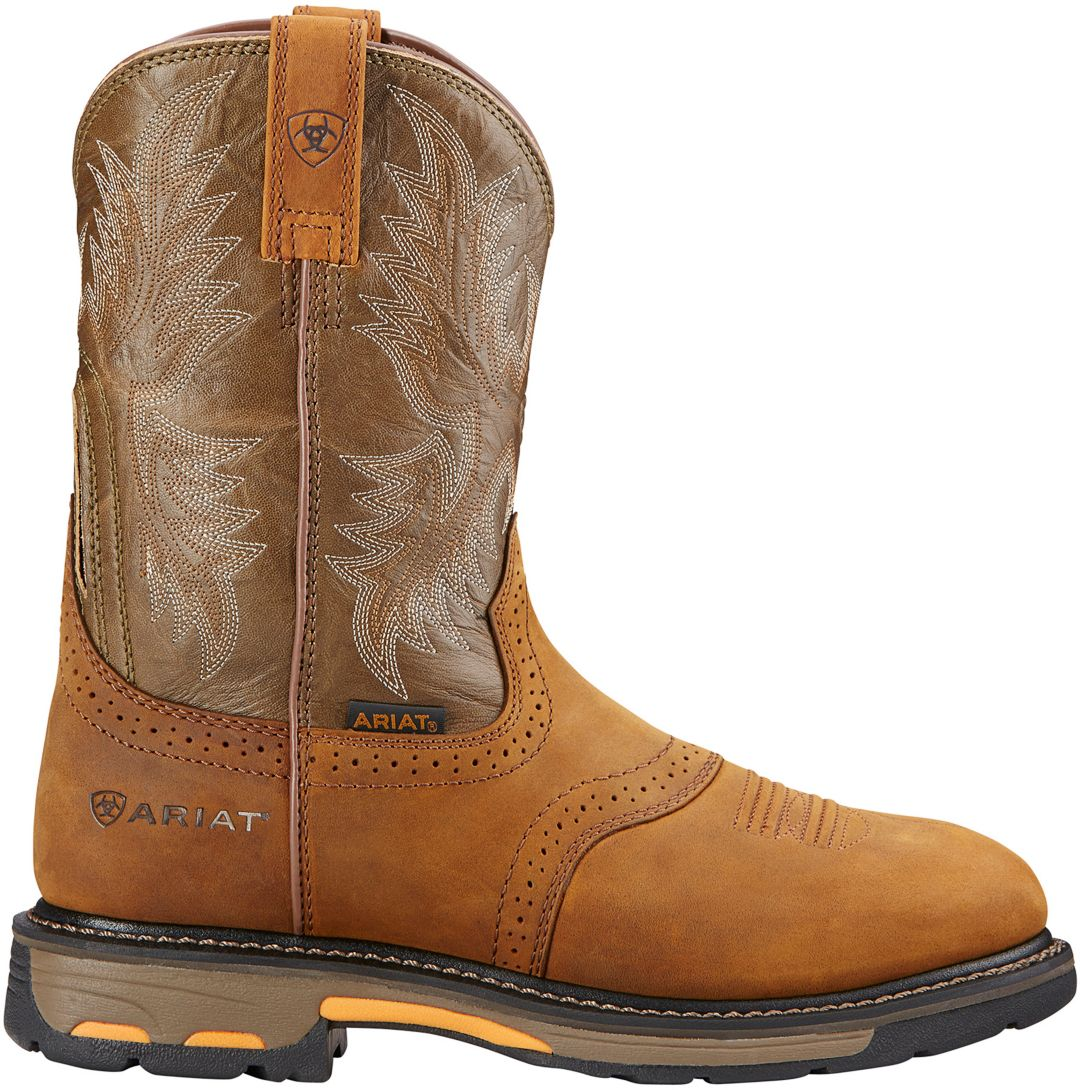 """8d3d34a4597 Ariat Men's WorkHog 10"""" Pull-On Western Boots 